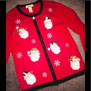 BECHAMEL PETITES NOT SO UGLY CHRISTMAS SWEATER P/M